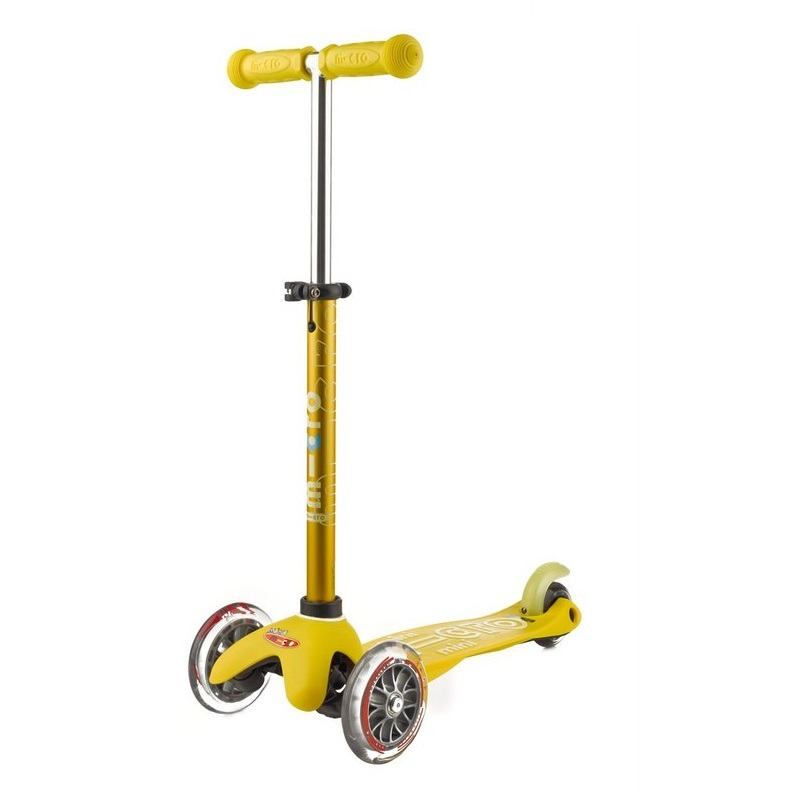 Mini Micro Deluxe Scooter Yellow