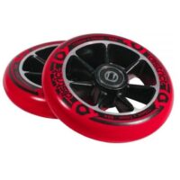 District S-Series 110mm Wheels Red Black