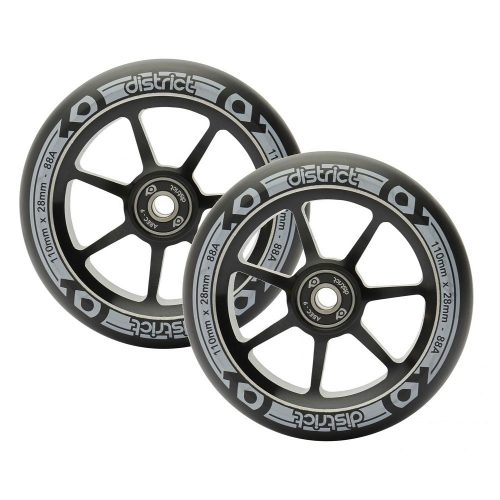 District S-Series 110mm / 28mm wide wheels