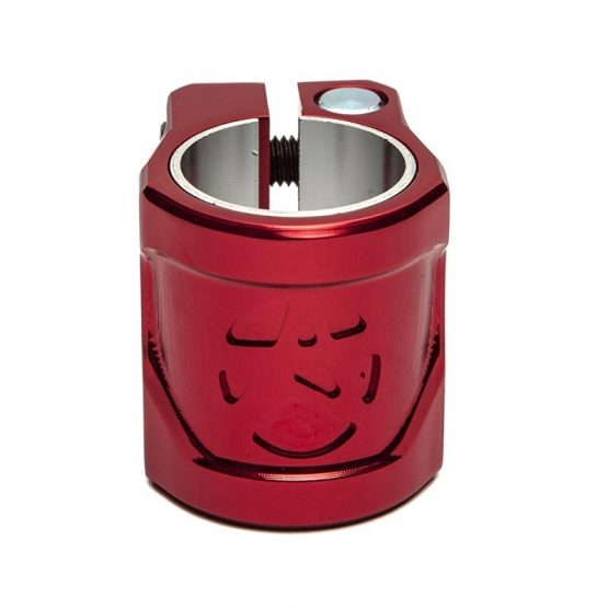 addict shield clamp red