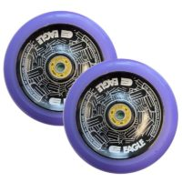 Eagle Hollowtech 115mm wheels purple