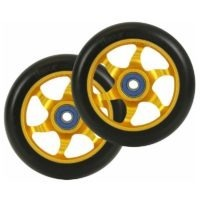 flavor awakening 110mm wheels black gold