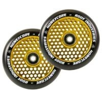 root industries honeycore 110mm wheels black gold 2