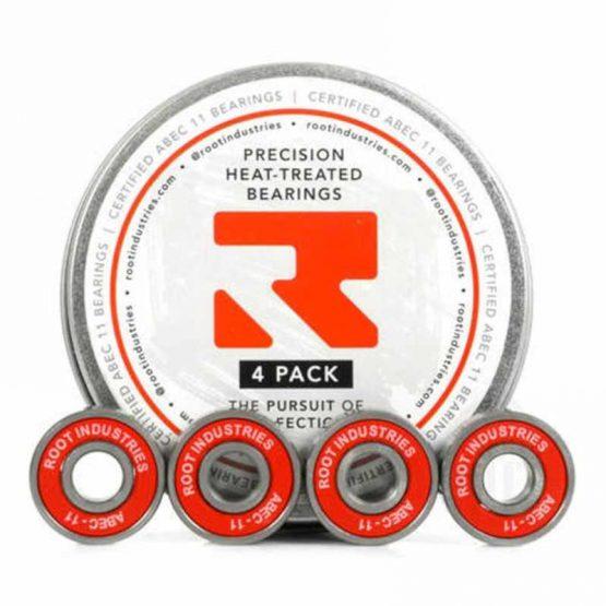 root industries wheel bearings 4pk Abec11