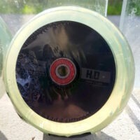 H2O Clear 110mm Hollowcore Wheels 2