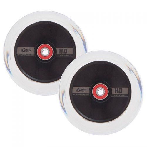 H2O Clear 110mm Hollowcore Wheels