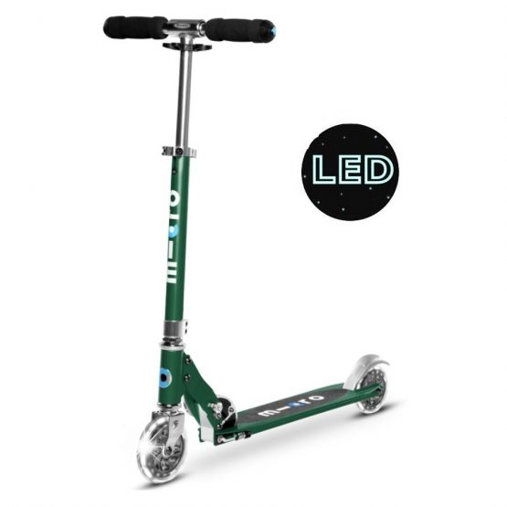 micro-sprite-scooter-LED-forest-green-a