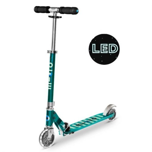 micro-sprite-scooter-sea-green-led-1